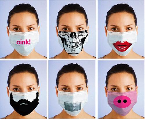 masque anti-microbes